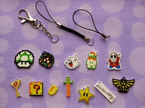 Making Nintendo Charms woop by opiel16