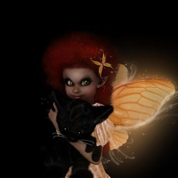 Butterfly Girl by Surama