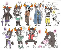 fantrolls batch 2! - CLOSED now by hapineta-adopts