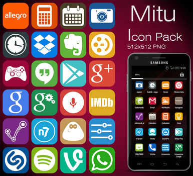 Mitu icon pack #2 by scope66