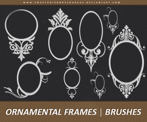 Ornamental Frames | Brushes by sweetpoisonresources