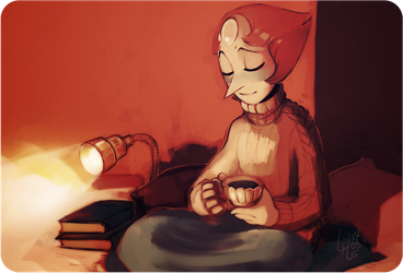 Her favourite tea by LiLaiRa