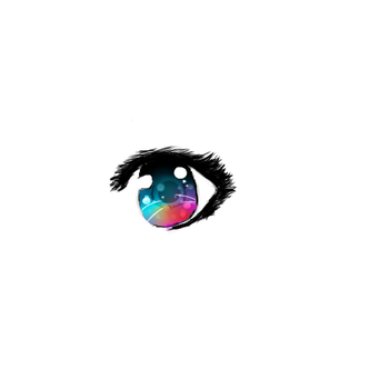 Anime- Rainbow Eye by Yumikan