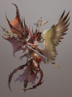 Fallen angel by yuchenghong