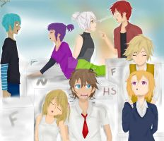 #FNAFHS Ships by Zorise302
