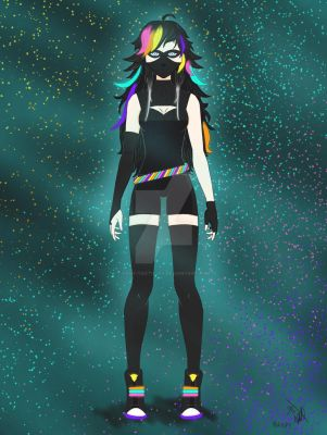 My OC - Neon Shadow by Dany-Tactician