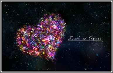 Heart in Space by CrsvR