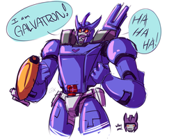 TF G1: Galvatron by Fulcrumisthebomb