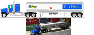 Sunoco Fuel Truck by Johnnewman121