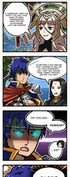 FE Heroes: Young Mercenary Ike by Dragonith