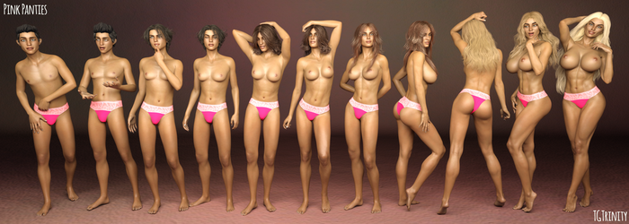 TG Sequence: Pink Panties by TGTrinity