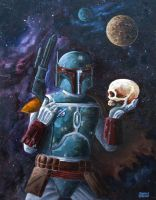 Boba Fett by ShaunStroup