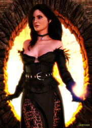 Yennefer by Agr1on