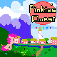 Pinkie's Quest Cover/Wallpaper by Zztfox
