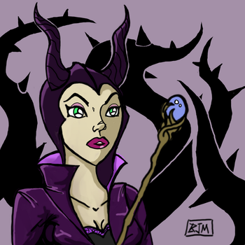 Maleficent by thehaloequation