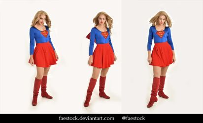 Supergirl  - Stock model reference pack 13 by faestock