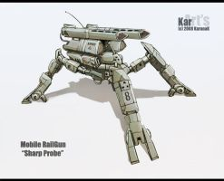 Mobile RailGun Sharp Probe by KaranaK