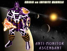 Anti-Monitor Ascendant by PatchMadripoor