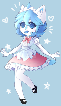 Maid Snoh Redraw (Chibi) by Snohy