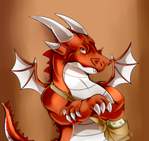Red Dragon by FanDragonBrigitha
