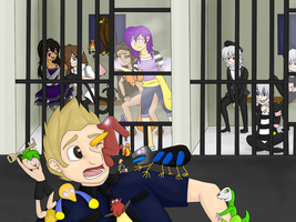 Puppet Jail Break by BeckImaginative