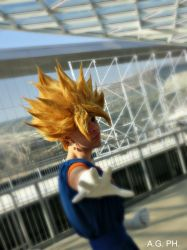 Vegetto SSJ by Alexcloudsquall