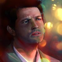 Castiel a Distant Light by daihaa-wyrd