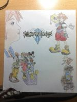 Kingdom Hearts by albimola