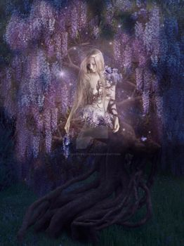 Wisteria by babsartcreations