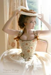 18th Century Corset by chiquitita-cosplay