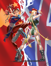 SF Tribute Chun Li VS Cammy by Kougen