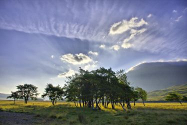 Skies over the Highlands by BusterBrownBB
