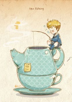 Tea Fishing by weiliwonka