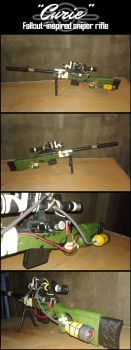 Curie [FALLOUT-inspired Sniper Rifle] by greenwillow13