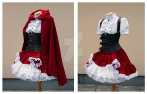 Red Riding Hood set by lady-narven