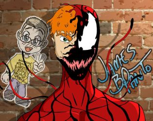 Carnage on the streets by Tekkaman-James