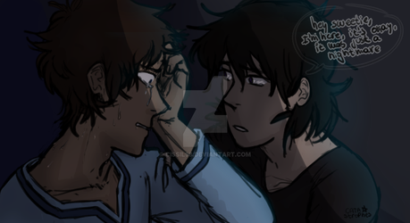 lance had a nightmare by Cissil98