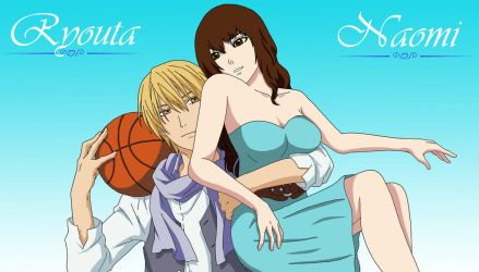 Ryouta Kise x Naomi O'Connor by WhisperDreams
