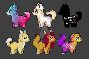 Canine Adopts - 1 POINT - OPEN by SellingEU