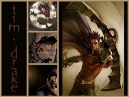 WALLPAPER - Tim Drake by riku-dovienya