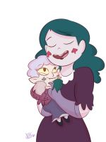 Mewman and Monster 2/2 by Jess-the-vampire