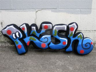 Plush Graffiti 2 by boomplush