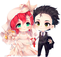 c:  Carter and Tobias  [+SPEEDPAINT] by LaDollBlanche