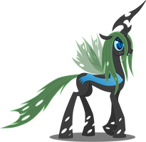 MLP - Changeling OC - Carapace by FunkyBacon