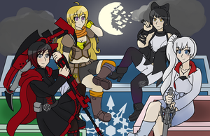 Team RWBY by animefan0456