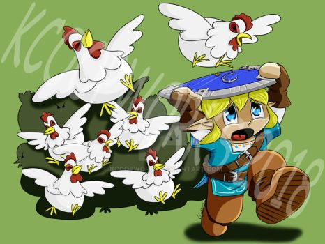 Chibi Chicken Attack by KCoopWorks