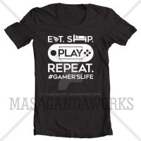 SHIRT: Gamer's Life by Clarkology