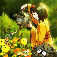 erika watering the bellsprout