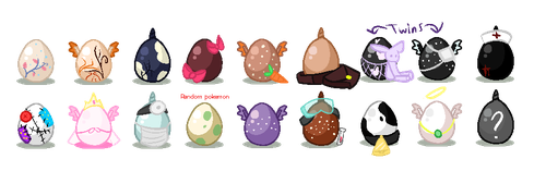 MLP Eggs OPEN!! #5 open! by Russet-Adopts