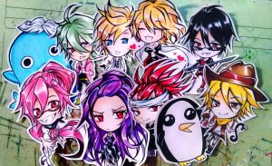 chibi hell by AdeSlowmoQueen